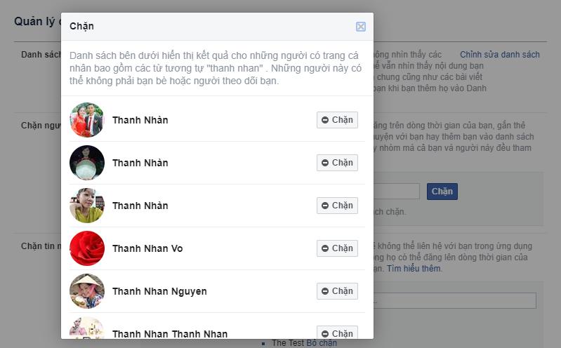 Cách chặn facebook người khác