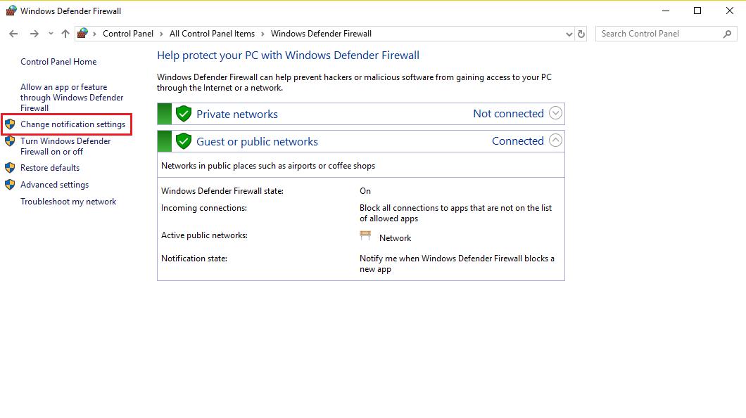 Cách tắt Windows Defender win 10