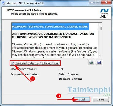 Hướng dẫn cài đặt NET Framework 4