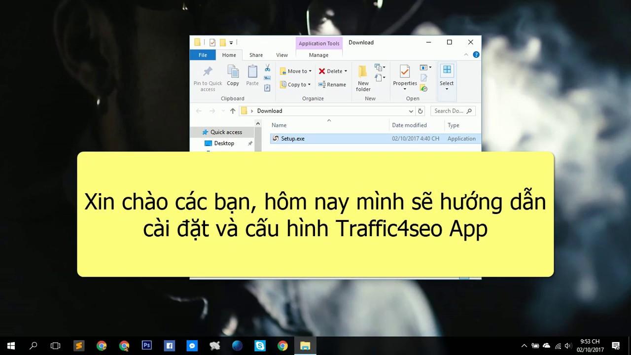 Hướng dẫn cài đặt và cấu hình Traffic4seo App
