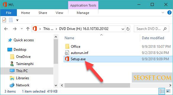 Hướng dẫn cài đặt Microsoft Office 2019