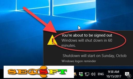 Cách hẹn giờ tắt máy tính trên win 10 sau 1 khoản thời gian