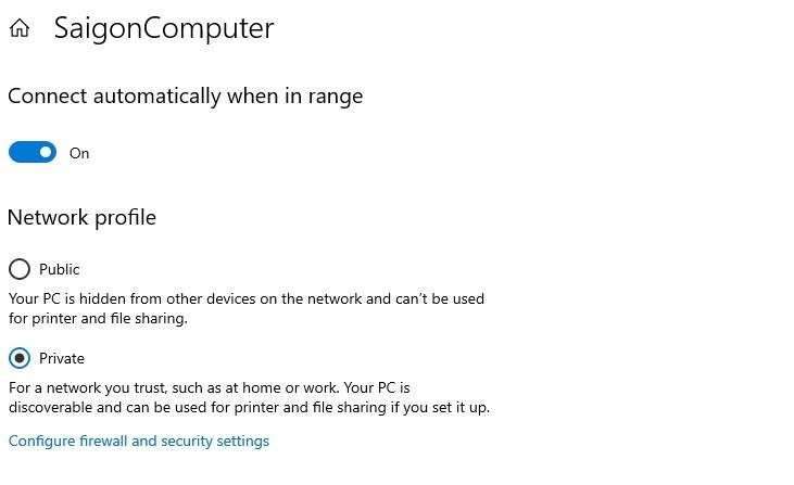 Khắc phục không thấy máy xuât hiện trong mạng LAN